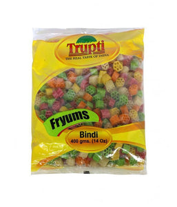 Trupti Bindi Fryums 14 oz - Daily Fresh Grocery