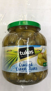 Tukas Cracked Green Olives - 1700gm - Daily Fresh Grocery