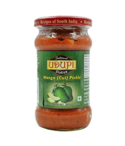 Udupi Mango (CUT) Pickle - 300 Gm - Daily Fresh Grocery