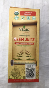 Vedic Juices Certified Organic Neem Juice - 500 ml - Daily Fresh Grocery