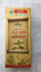Vedic Juices Certified Organic Tulsi Juice - 500 Gm - Daily Fresh Grocery