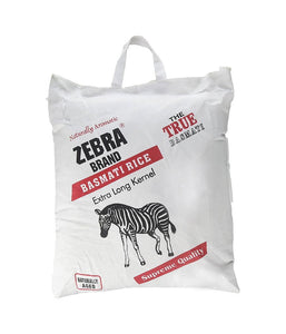 Zebra Basmati Rice Extra Large 10 lb - Daily Fresh Grocery