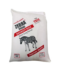 ZEBRA BRAND – Basmati Rice – Extra Long Kernel – 40Lbs - Daily Fresh Grocery