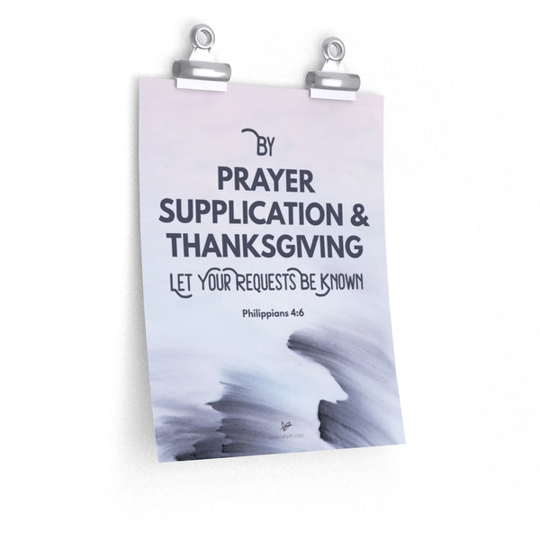 'By Prayer' Poster