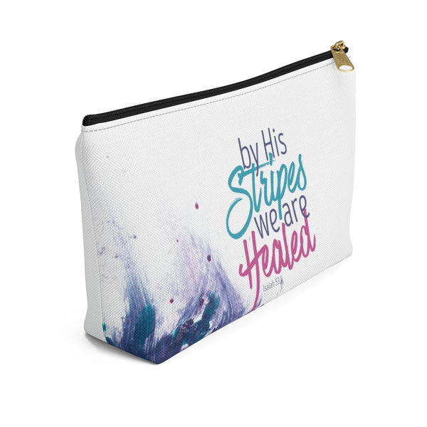 'By His Stripes' Accessory Pouch