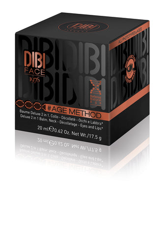 DIBI MILANO AGE METHOD - DELUXE 5 IN 1 BALM FOR EYES, LIPS, NECK AND DECOLLETAGE