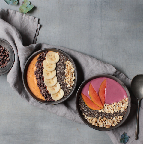 Banana Beet Smoothie Bowl recipe