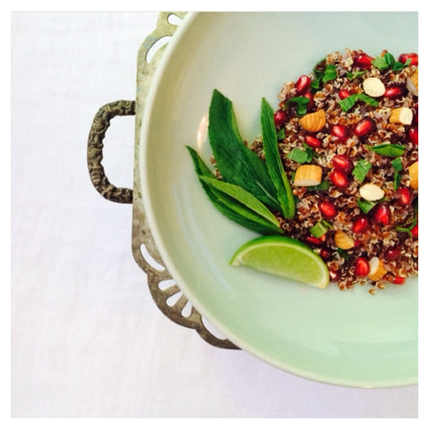 Quinoa and Pomegranate Salad recipe