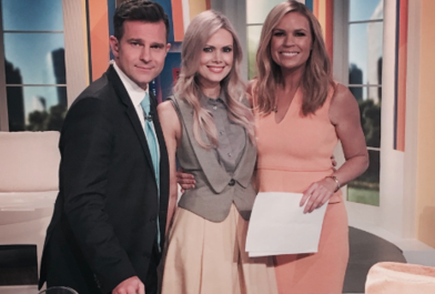 David Campbell, Karen Fischer and Sonia Kruger