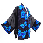 Load image into Gallery viewer, painted silk kimono for women