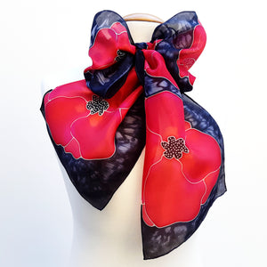 design silk scarves