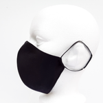 Load image into Gallery viewer, black satin mask