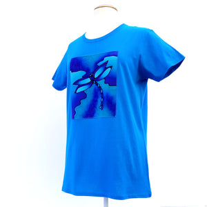 blue t-shirt for women