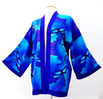 Load image into Gallery viewer, painted silk kimono