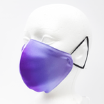 Load image into Gallery viewer, satin purple face mask