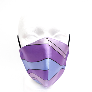 double layer silk facemask
