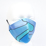Load image into Gallery viewer, blue silk mask