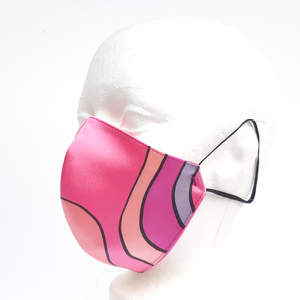 woman silk facemask Canada