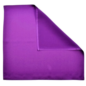 purple satin pocket square