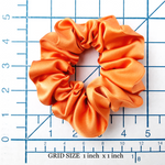 Load image into Gallery viewer, large and small satin hair scrunchie for bridesmaid gift  women
