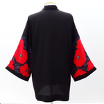 Load image into Gallery viewer, kimono jacket black