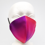Load image into Gallery viewer, painted silk face mask