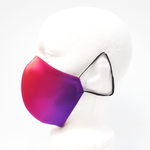 Load image into Gallery viewer, silk magenta mask