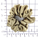 Load image into Gallery viewer, beige hair scrunchie large size made by Lynne Kiel