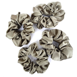 Load image into Gallery viewer, pure silk scrunchie hair accessory handmade in Canada