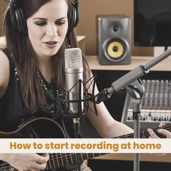 How to start recording at home