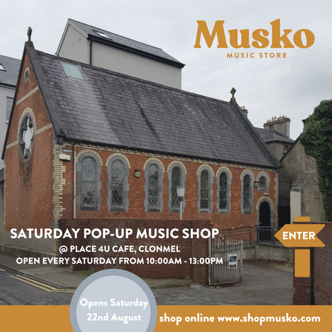 Musko Music Store Pop Up Shop Clonmel