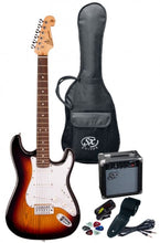 Load image into Gallery viewer, SX SE1 Strat Style Guitar Pack 3/4 Size  - VARIOUS COLOURS