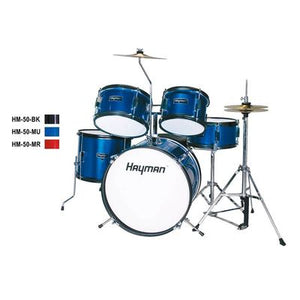 HM-50-MR |Hayman Junior Series 5-piece drum kit