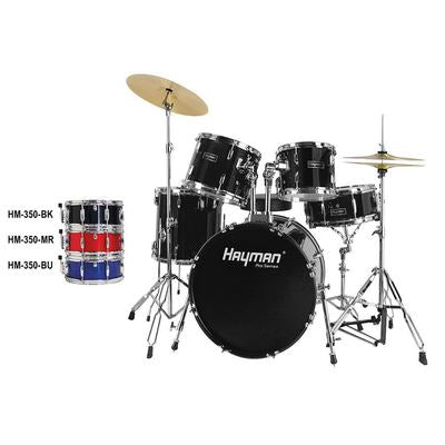 HM-350-MU |Hayman Pro Series 5-piece fusion drum kit