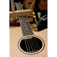 Load image into Gallery viewer, James Neligan Asyla series mini auditorium acoustic travel guitar with solid spruce top, left-handed model
