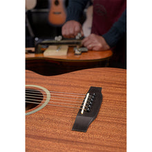 Load image into Gallery viewer, James Neligan Deveron series mini auditorium acoustic travel guitar with solid mahogany top