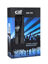 Load image into Gallery viewer, DM-700 | Gatt Audio dynamic microphone professional quality