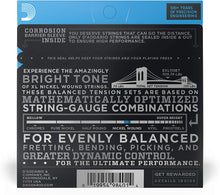 Load image into Gallery viewer, D'Addario -  EXL110BT Balanced Tension Regular Light Nickel Wound Electric Guitar Strings. 10-46 - Musko Music Store