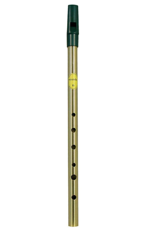 Feadog - Brass Tin Whistle | D