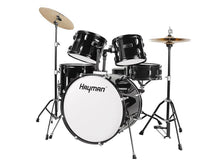 Load image into Gallery viewer, HM-100-BK | Hayman Start Series 5-piece drum kit
