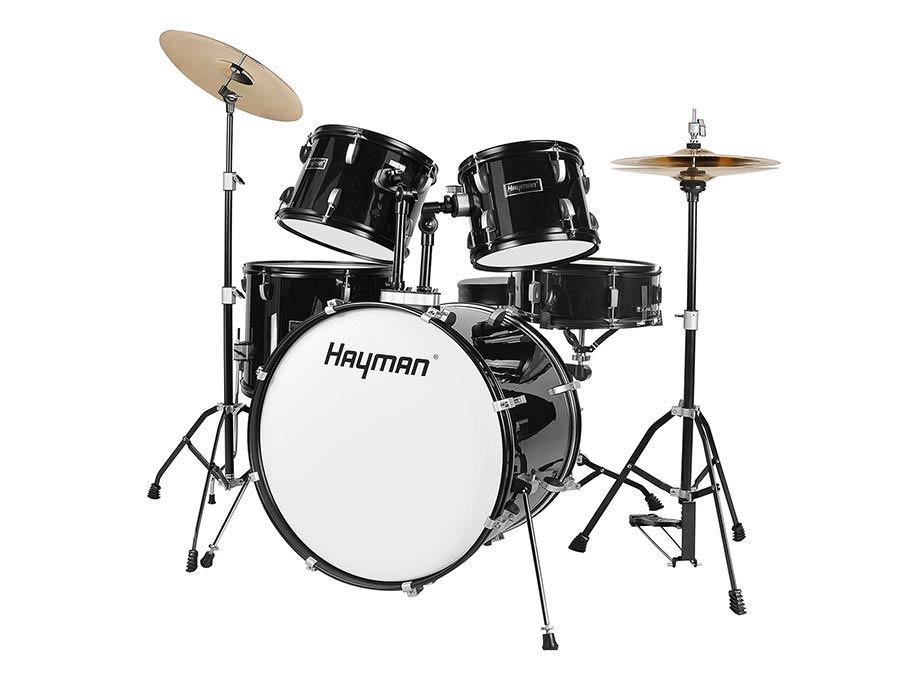 HM-100-BK | Hayman Start Series 5-piece drum kit