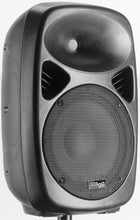 "Load image into Gallery viewer, Stagg KMS10-0 10"" 2-way active speaker, analog, class A/B, Bluetooth® wireless technology, 120 watts peak power"