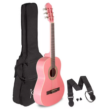 Load image into Gallery viewer, Koda 3/4 Size Classical Guitar, Nylon Strings, c/w Gig Bag, Strap & Picks - Various Colours