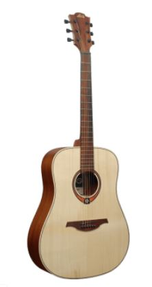 LAG TL70D Lefthand Dreadnought Acoustic Guitar | Natural