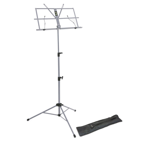 Lawrence lightweight folding music stand - Black - Musko Music Store