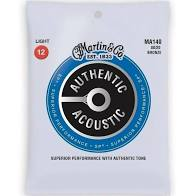 Martin Strings - MA140, SP 80/20 Bronze Light 12-54 - Musko Music Store