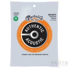 Martin Strings - MA500FX, SP Flexible Core - Phosphor Bronze 12 String Extra Light ( 10-54 )