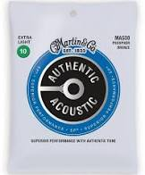 Martin Strings - MA530, Authentic Acoustic - SP - Phosphor Bronze Extra Light ( 10-47 )