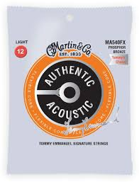 Martin Strings - MA540FX, SP Flexible Core - Phosphor Bronze Light Tommy's Choice ( 12-54 ) - Musko Music Store