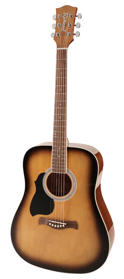 Richwood Artist Series Lefthanded Acoustic Guitar